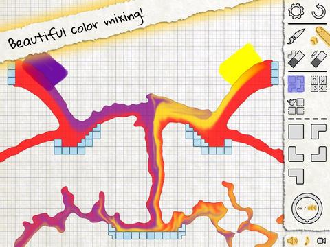 Liquid Sketch; Game mit Suchtpotential